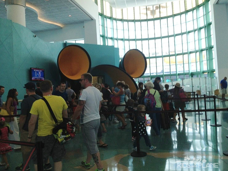 Port Canaveral Disney Cruise Check In - Boarding the Ship