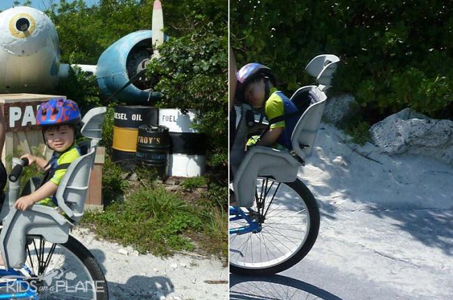 Toronto Island Bike Trialer Ferry