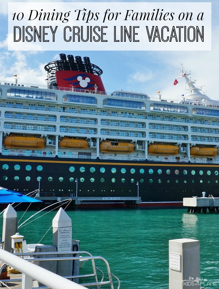 Best Dining Tips for Families on a Disney Cruise Vacation
