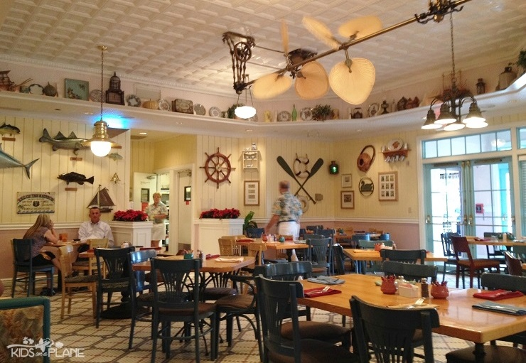 Olivia's Cafe Old Key West Lunch Review - Inside Dining Room