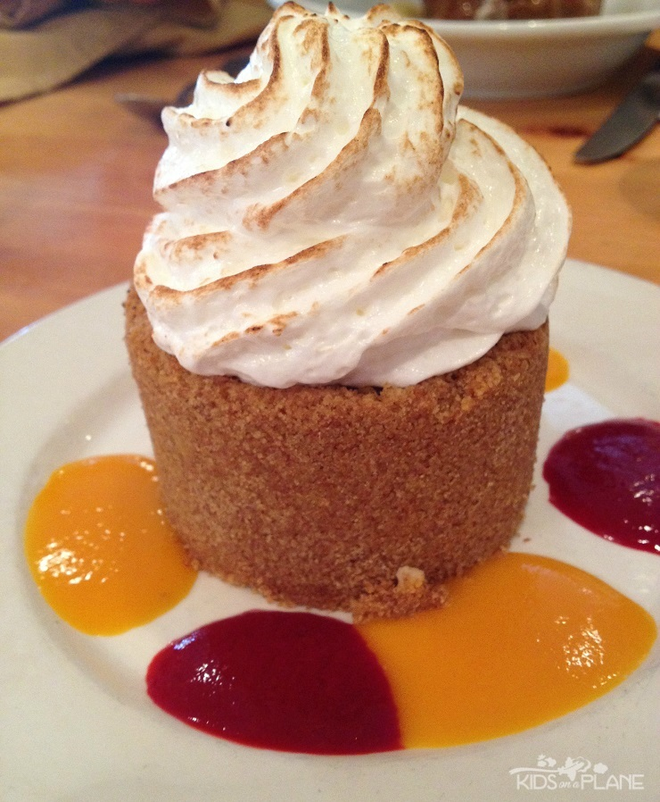 Olivia's Cafe Old Key West Lunch Review - Key Lime Tart - One of the Reasons to Make It Out to Disney's OKW Resort