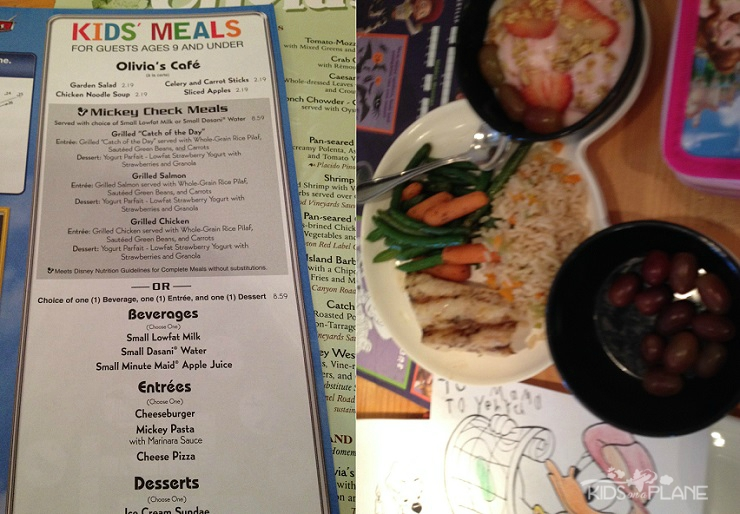 Olivia's Cafe Old Key West Lunch Review - Kids Lunch Menu