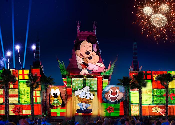 Christmas at Disney World - Hollywood Studios Jingle Bell Jingle Jam
