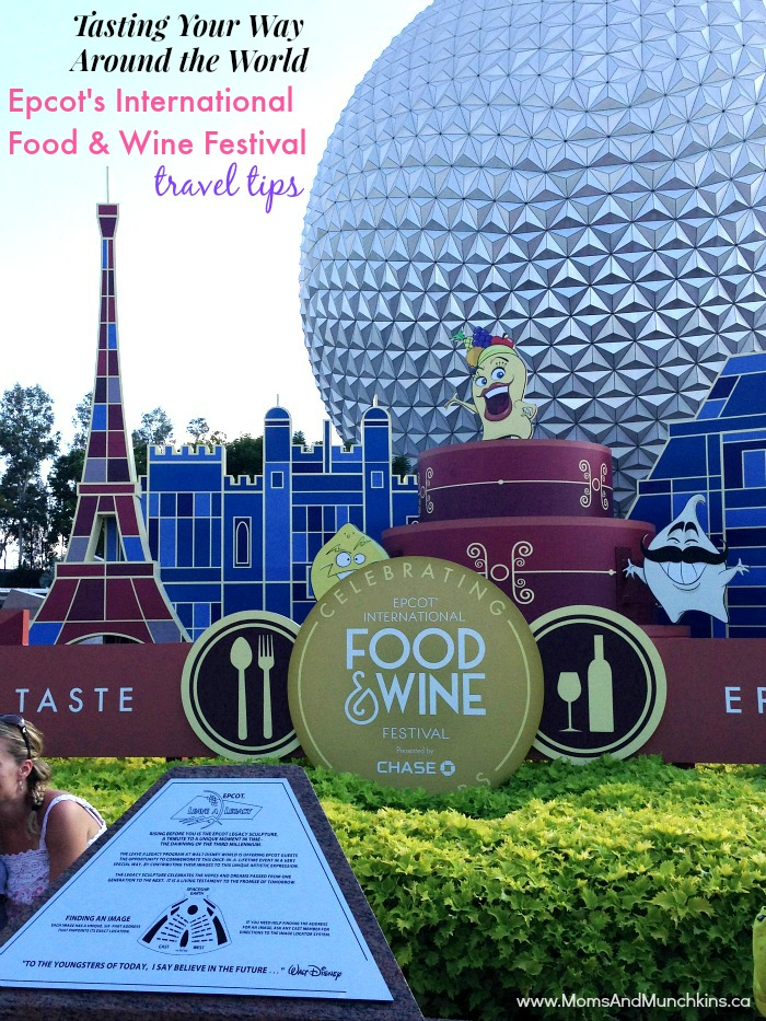 Epcot International Food and Wine Festival Tips