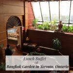 Lunch Buffet at Bangkok Garden in Toronto