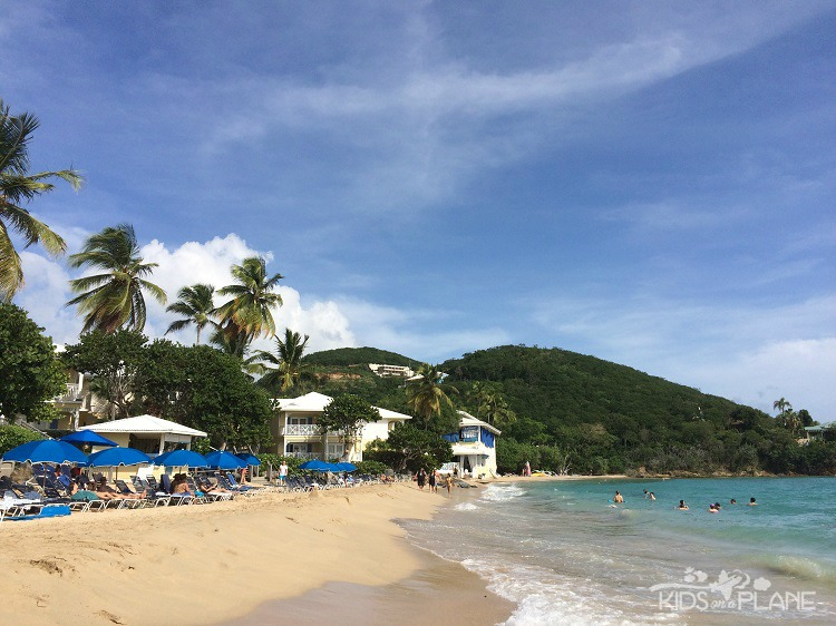 What to do in St Thomas with Kids - get a Beach Day Pass at Morning Star Marriott Beach Resort