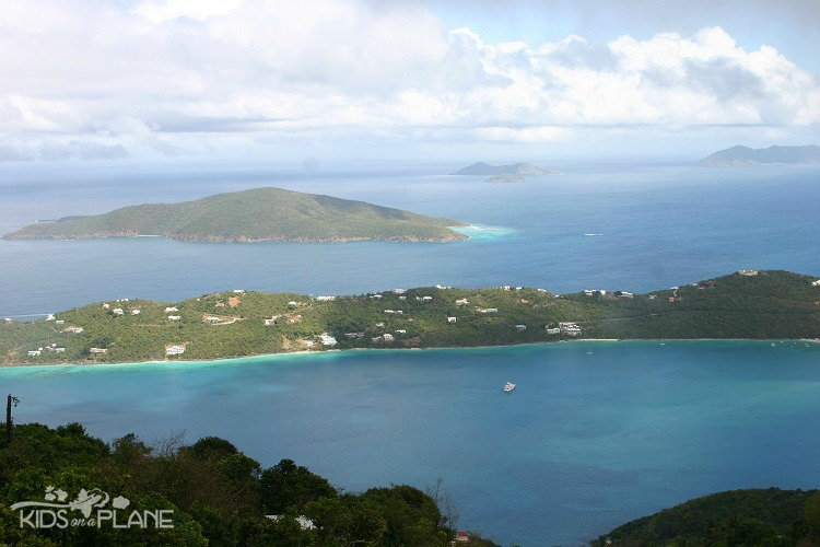 Best Things to Do in St Thomas with Toddlers and Kids - Drake's Seat