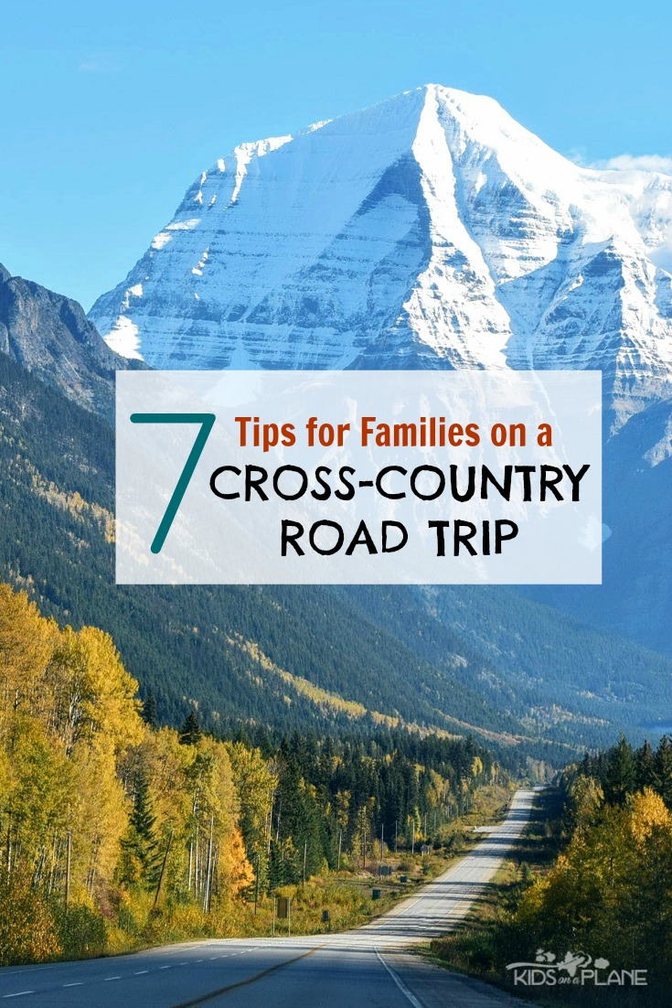 Best Travel Tips for Families Planning a Cross Country Road Trip