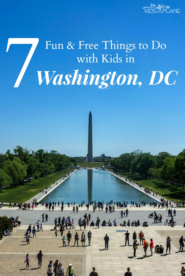 7 Free Activities and Places to Visit with Kids in Washington DC