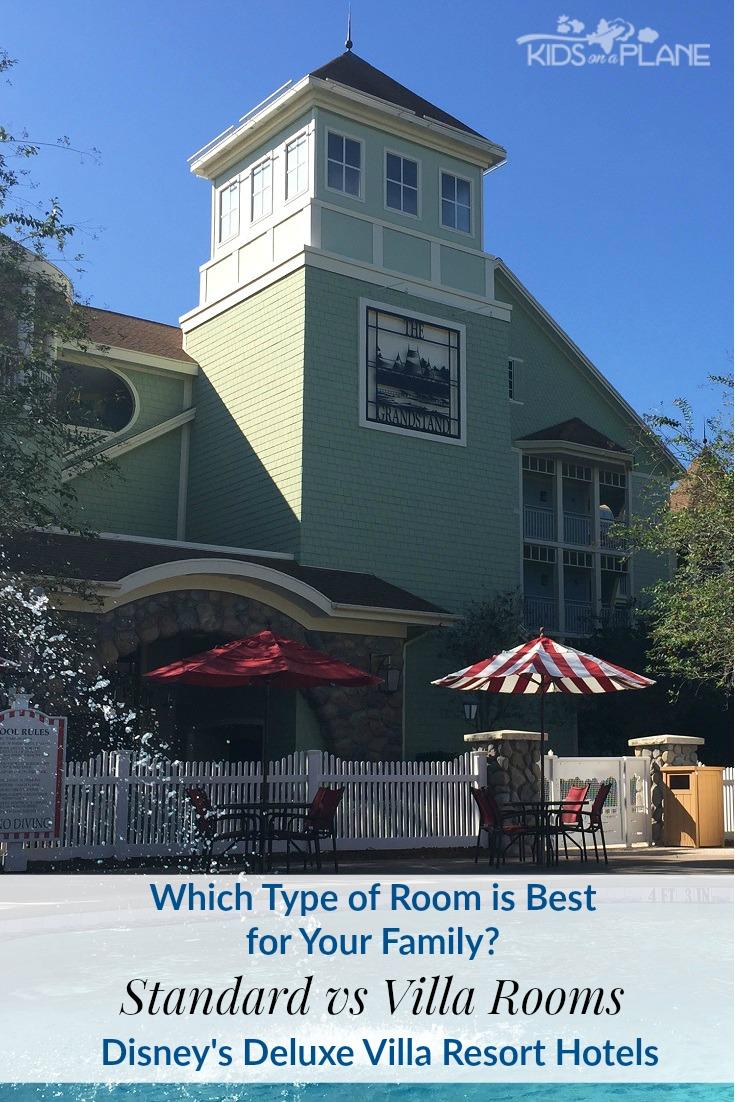 Standard Room vs Villa Room at Disney Deluxe Villa Hotels - Pros and Cons