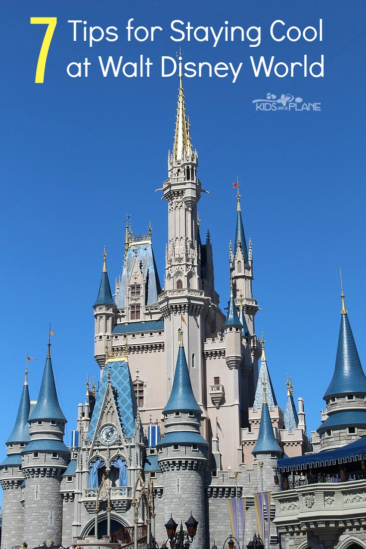 How to stay cool during a Disney World summer vacation