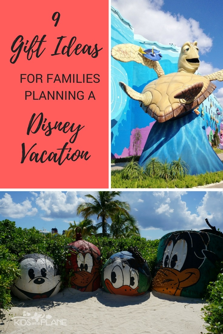9 gift ideas for families planning a disney vacation kids on a 9 practical gift ideas for families heading to disney world disneyland or a disney cruise negle Choice Image