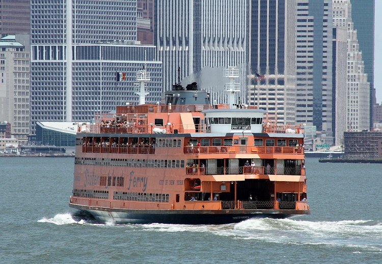 Free Activities for Kids New York City including Staten Island Ferry