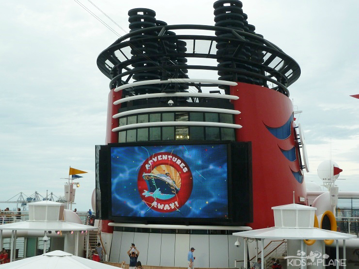 Disney Cruise Port Canaveral Sail Away Party