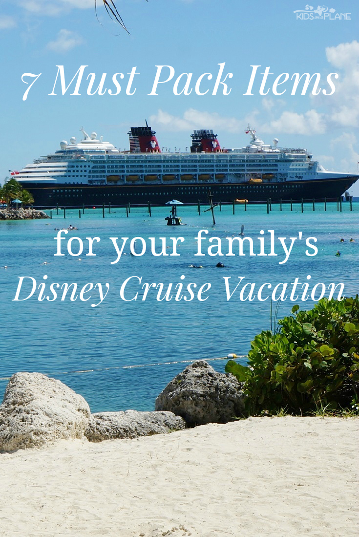 Things To Pack For A Disney Cruise