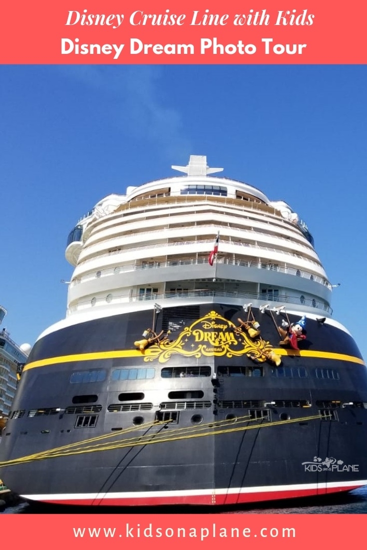 Disney Cruise with Kids - Disney Dream Ship Photo Tour #disneycruise #cruising #disneycruiseline