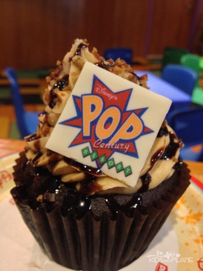 Pop Century Resort Review King Bacon Cupcake