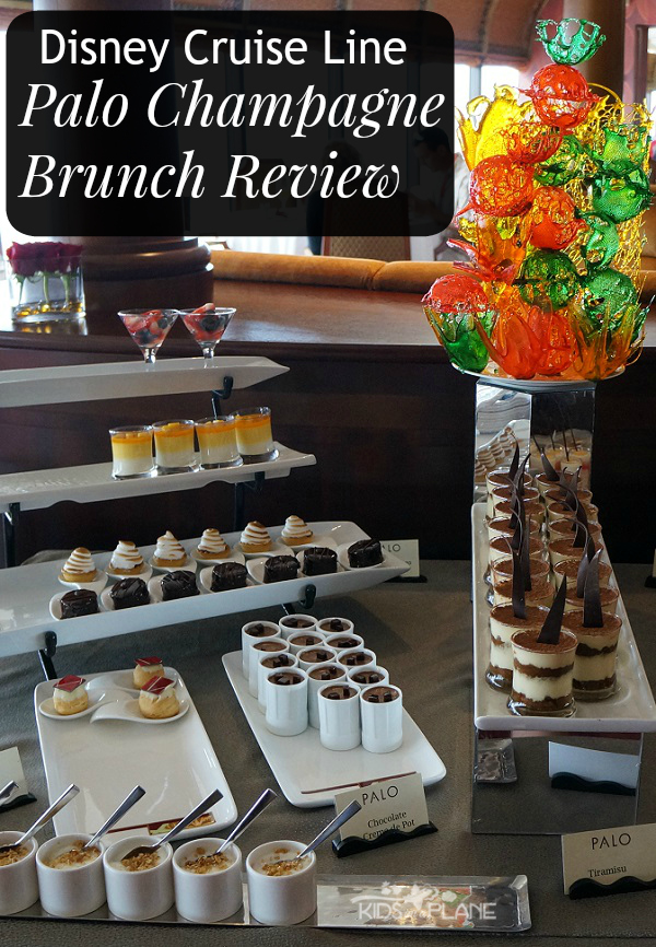 Palo Champagne Brunch Review - Is this adult only meal on a Disney cruise worth paying for