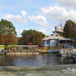Port Orleans Riverside Resort Review Boat Dock | KidsOnAPlane.com #disneyworld #familytravel #hotel