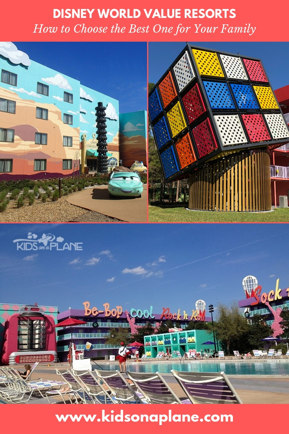 All About Disney VALUE Resort Hotels - How to Choose a Disney World Resort Hotel