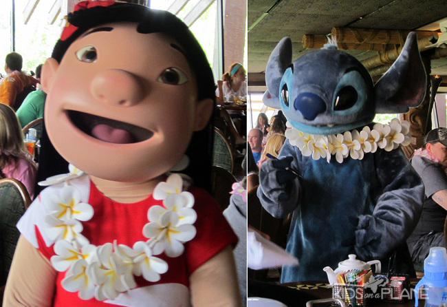 Disney World Deluxe Resort Hotel Ohana Character Breakfast Polynesian