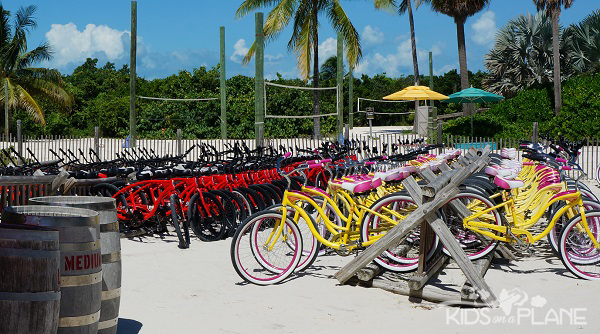 Travel Tips for Castaway Cay - Explore the island by bike!