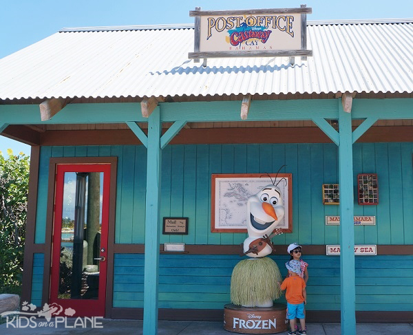 9 Travel Tips for Castaway Cay - Send yourself a postcard from Castaway Cay's post office!