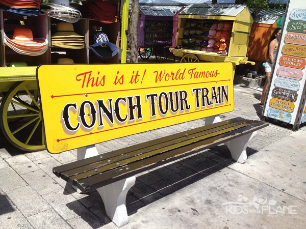 Things to do in Key West Florida with Kids - Conch Tour Train - 90 minute open air trolley tour around the island