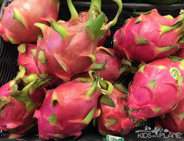Good Luck Foods Chinese New Year - Dragon Fruit symbolizes wealth and good fortune