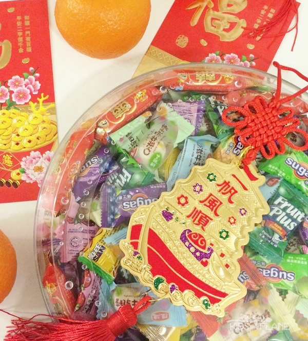 Good Luck Foods Chinese New Year - Sweets, Candy and Desserts symbolize a sweet life
