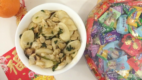 Celebrating Chinese New Year At Home Stir Fried Rice Cake