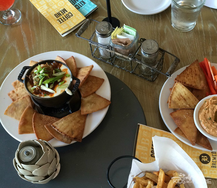 Dishes to Try in Texas - Queso at Brewed in Fort Worth Texas