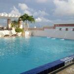 Pre Cruise Stay at Hyatt Regency Orlando International Airport Hotel - this outdoor pool rocks