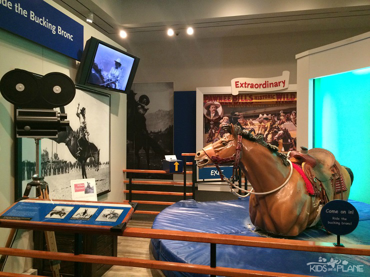 Things to Do with Kids in Fort Worth Texas - For Aspiring Cowgirls - National Cowgirl Museum and Hall of Fame