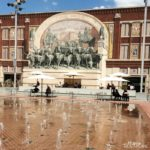 Things to Do with Kids in Fort Worth Texas - Visit Sundance Square and Cool Play in the Splash Pad