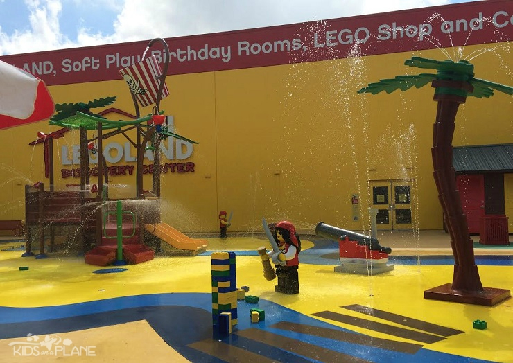 Things to Do with Kids in Grapevine Texas - LEGOLAND Discovery Center Pirate Beach