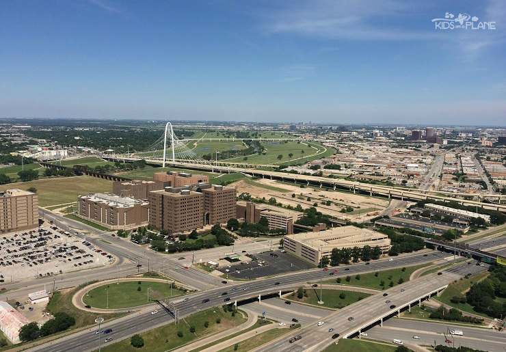 Reunion Tower is where families can get a glimpse of the downtown Dallas area from above