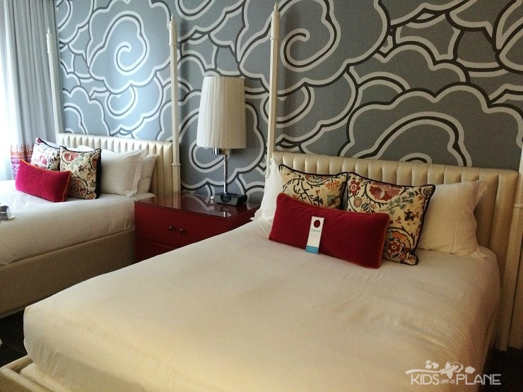 Kimpton Hotel Monaco Seattle Review - Monaco Queen Queen Room is ample for a family of 4
