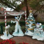 Holiday Activities and Events at Walt Disney World - holiday decorations around Disney Springs Downtown Disney