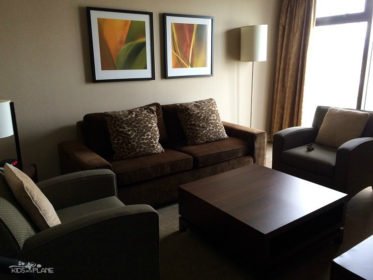 Pacific Gateway Hotel at Vancouver Airport Club King Suite Hotel Review