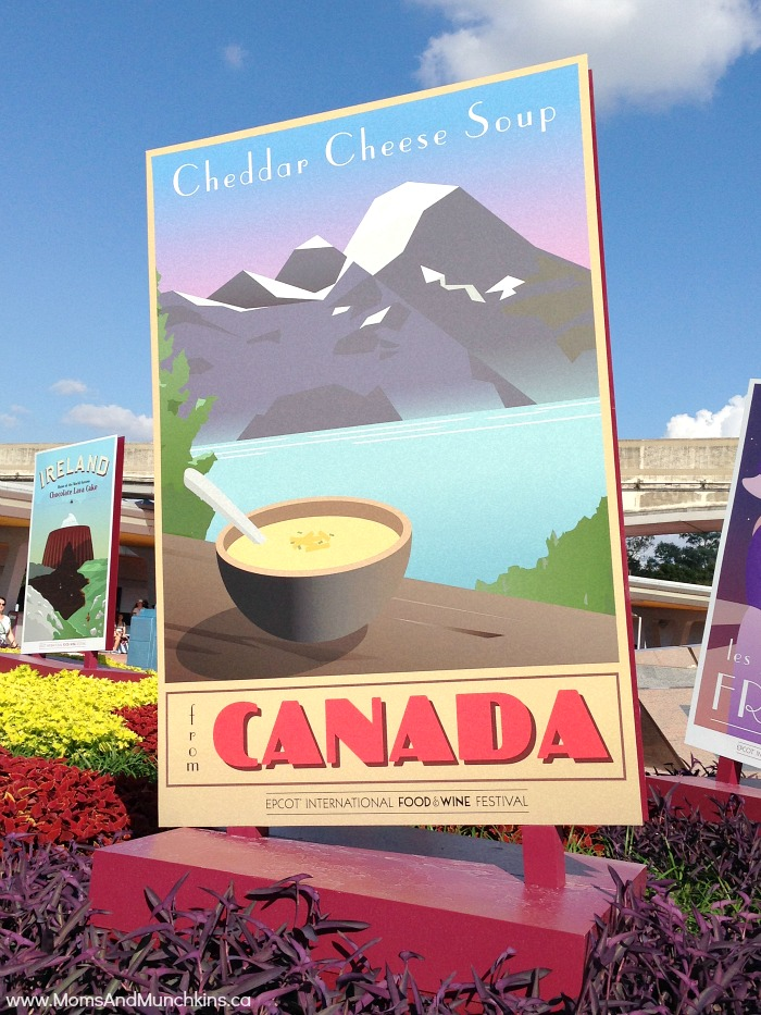 Epcot Food and Wine Festival - Cheddar Cheese Soup from Canada