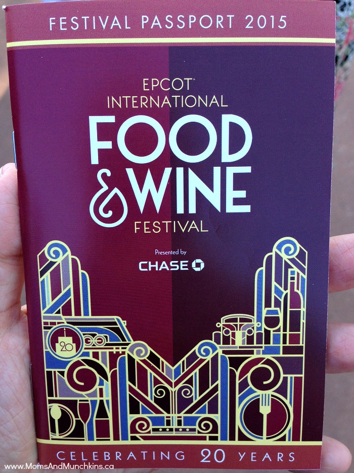 Epcot Food and Wine Festival Passport allows you to budget your time and money