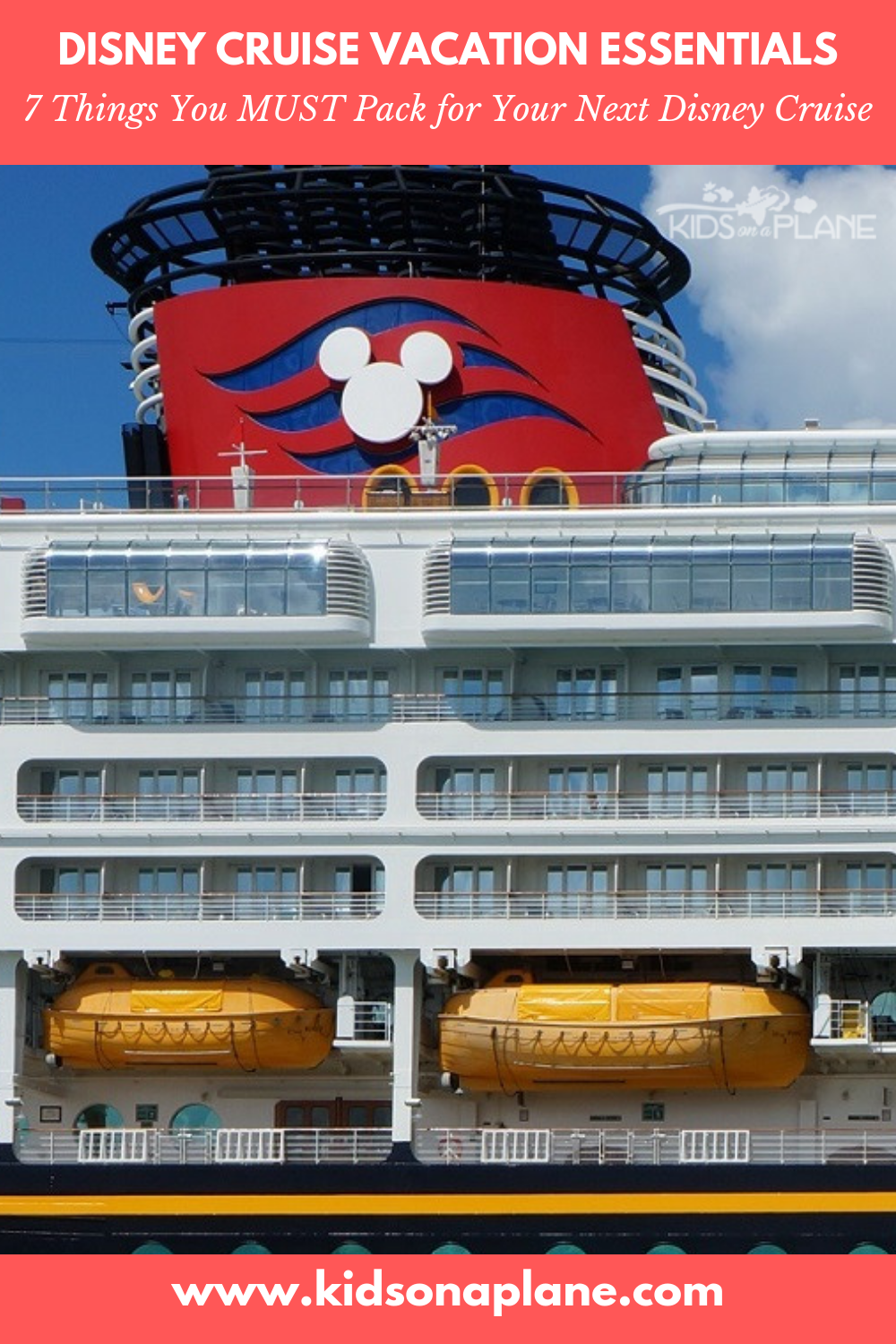 What to Pack for a Disney Cruise with Kids - 7 MUST PACK ITEMS
