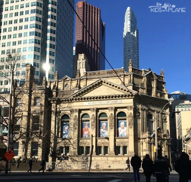 Hockey Hall of Fame is a must do for any hockey fan - Weekend in Toronto with Kids - What to Do, Where to Stay, What to Eat