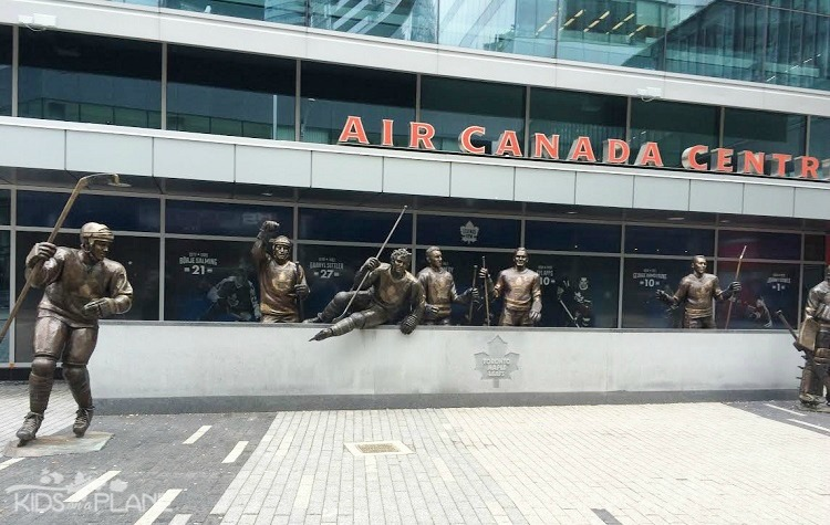 Legends Row at Air Canada Centre - Weekend in Toronto - What to Do, Where to Stay, What to Eat
