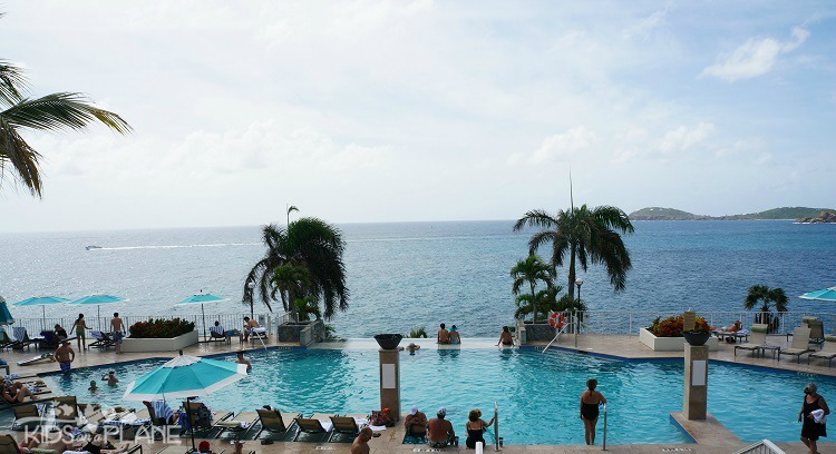 Infinity Pool at Frenchman's Reef Resort in St Thomas USVI