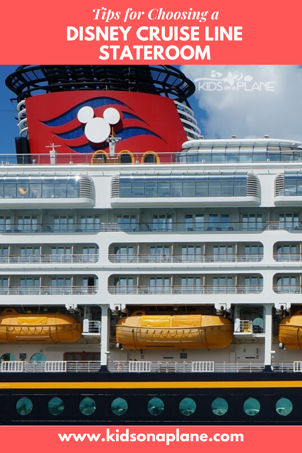 Tips for Choosing a Disney Cruise Line Stateroom Cabin - Learn about the different categories and discounts