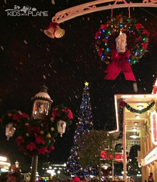 holiday celebrations at disney world theme parks - When Is Disney Decorated For Christmas