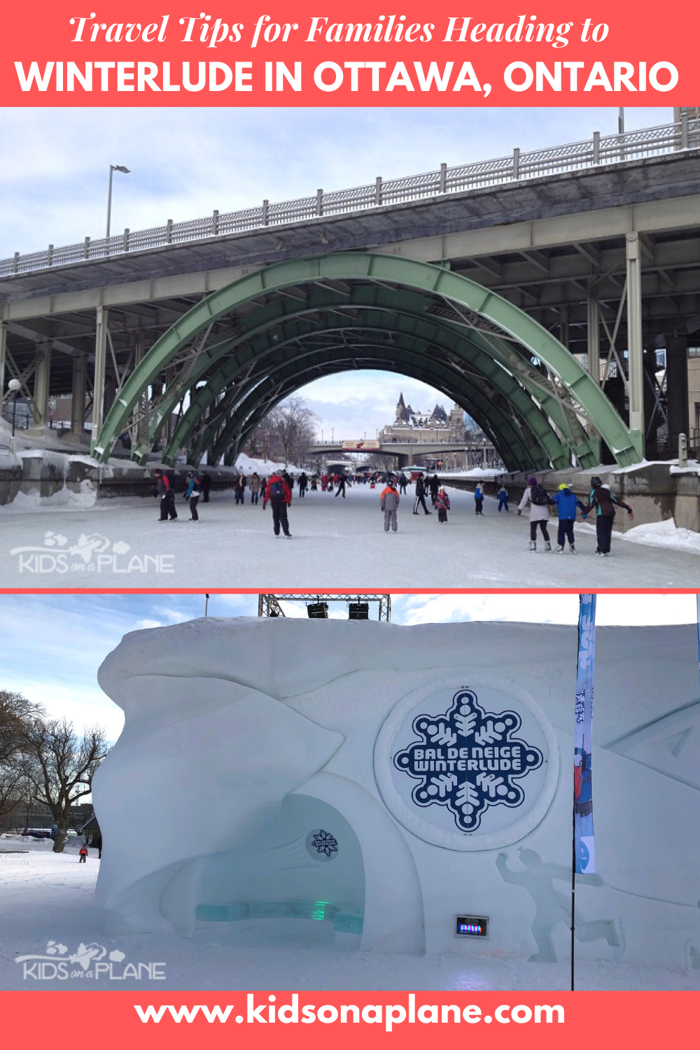 Top Travel Tips for Families with Kids Going to Winterlude 2020 in Ottawa Canada