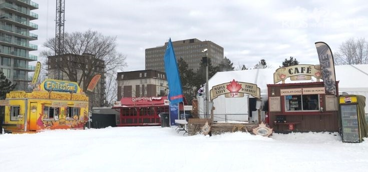 Winterlude Ottawa Travel Tips - Bring Cash for Snacks and Drinks